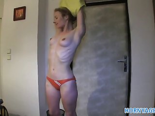 Hornyagent hd athletic women fucks for cash in a hotel room amateur cum cock suckers