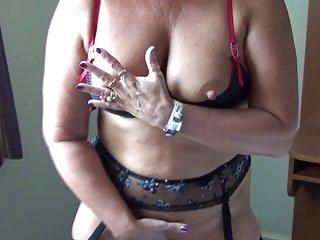 Xxx sex video photo stockinged milf