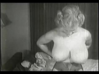 Busty vintage retro babe virginia bell breast busty