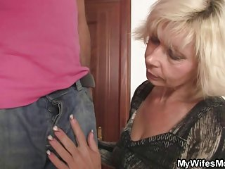 Homemade amature wife blonde old bag seduces her son-in-law cheat daughter