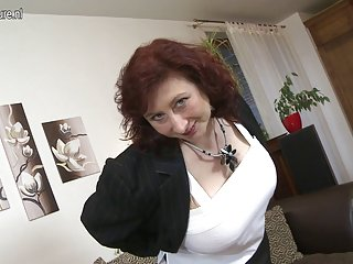 Cute busty mom with hairy pussy mature nl porn breast adult