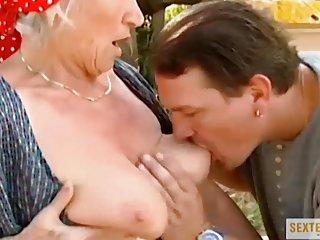 Dirty home clip oma (73) die drecksau