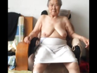 Sex mature tube asian 80+ granny after bath