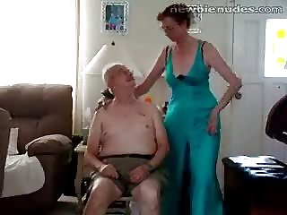 Hot sexy video girl old granny stripts
