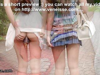 Porn sex hd pics veneisse lesbian outdoor walk with eggplant