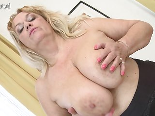 Hot granny with big saggy tits and her old cunt mature nl