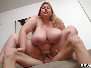 Guy picks up busty bbw and bangs her blowjob big ass