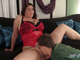 Beautiful plumper angel deluca loves to get fucked hard beautiful big tits