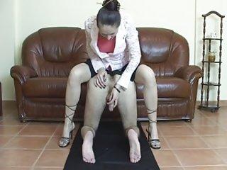 I porn star handjob from ass