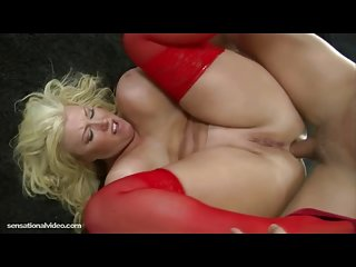 Chubby head nurse zoey andrews takes cock deep in her ass chubby