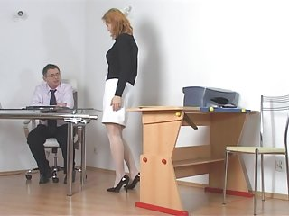 Naughty student getting punished by teacher naughty